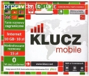 Польські сім sim картки оператора Klucz Mobile. Продаж, реєс